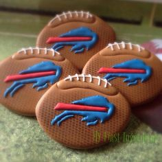 Football Cookies | My First Ingredient