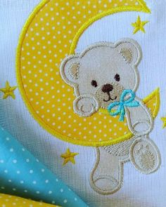 Quilting and crafting supplies for all your needlework - Baby Applique, Baby Embroidery, Applique Embroidery Designs, Machine Embroidery Applique, Applique Patterns, Applique Quilts, Machine Applique Designs, Baby Quilt Patterns, Quilt Baby