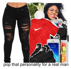 """""""  """"You don't trust me, so I don't trust you""""  """" by babygirl-10 ❤ liked on Polyvore featuring MICHAEL Michael Kors and NIKE"""