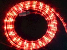 11.5' FlexTech LED Red Light String at Menards; $16.99 sale; also in blue, white, or multi