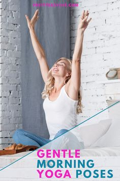 Be gentle with yourself starting your day with some easy and relaxing Yoga Poses just to give your body a chance to start to feel mobile and alive. Even 15 min will do it. Morning Yoga Flow, Morning Yoga Routine, Happy Baby Pose, True Yoga, Mind Relaxation, Relaxing Yoga, Fish Pose, Cow Pose, Gentle Yoga