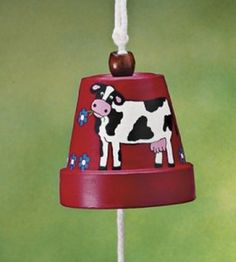 "AOL Image Search result for ""http://www.countrywomanmagazine.com/wp-content/uploads/2014/09/Cowbell-Clay-Pot-Craft-2-270x300.jpg"""