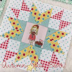 Fort Worth Fabric Studio: Farm Girl Vintage quilt block