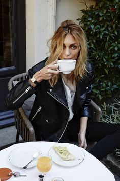 Coffee on the rocks avec Anja Rubik