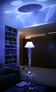Jellyfish lamp
