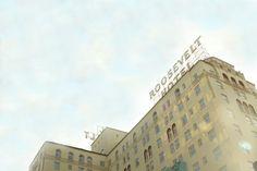 Hollywood. Roosevelt Hotel