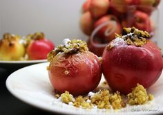 apple oats dessert
