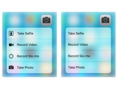 3d touch quick action