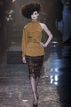 Jean Paul Gaultier Spring 2005 Couture Fashion Show - Erin O'Connor