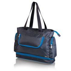 Picnic Time Insulated Beach Cooler Tote GreyBlue >>> Continue to the product at the image link.