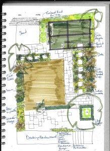 Setting Out Drawing Horsley Garden Design Garden Design Ideas