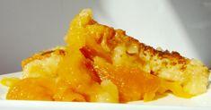 Mystery Lovers' Kitchen: Easy-Peasy Backwards Peach Cobbler