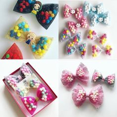 Lots of pominnies are up for grabs on our website and your last chance to take advantage of our 40% off sale.Use code - endofyear Expire at midnight Tulle Hair Bows, Hair Ribbons, Baby Hair Bows, Children Boutique Display, Tulle Projects, Disney Hair Bows, Hair Kit, Diy Baby Headbands, Handmade Hair Bows