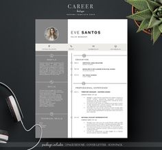 modern resume coverletter template creativework247 - Simple Resume Cover Letters