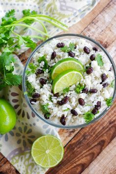 Jasmine Rice with Fresh Lime Black Beans & Cilantro is the easiest side dish to serve for your Mexican dinner. Jasmine Rice with Fresh Lime Black Beans & Cilantro is the easiest side dish to serve for your Mexican dinner. Mexican Side Dishes, Vegan Side Dishes, Side Dishes Easy, Rice Dishes, Fresh Lime, The Fresh, Jasmine Rice Recipes, Rice And Beans Recipe, Cilantro Lime Rice