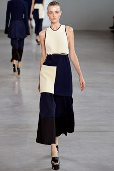 Calvin Klein Collection Spring 2015 Ready-to-Wear - Collection - Gallery - Look 1 - Style.com