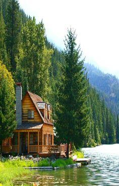 perfect lake cabin