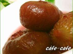 いちじくコンポート by cafe-cafe Berries, Food And Drink, Sweets, Homemade, Fruit, Cooking, Recipes, Tarts, Tart