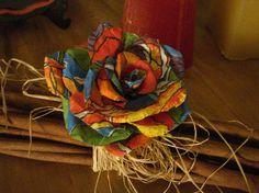 Ramadan Decorations, Hair Decorations, Ribbon Crafts, Flower Crafts, Diy Arts And Crafts, Easy Crafts, Yarn Flowers, Paper Flowers, Leather Flowers