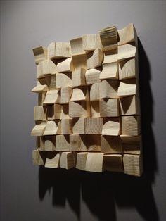 wood wall art - dyfuzer