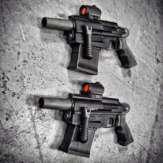 """Double fist THIS. Duel C More M26 modular accessory 12ga shotguns at…"