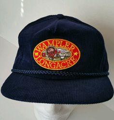 vintage Wampler Longachre Trucker hat Poultry Farm Retro Snapback Hat  Vintage Courderoy  Cap 8ac3499a13e2