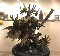 The Immortan WIP - Iron within, Shiny and Chrome without Chaos 40k, Chaos Lord, Warhammer Models, Space Wolves, Warhammer 40k Miniatures, Game Workshop, Warhammer 40000, Space Marine, Chrome