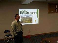 Franklin Pemberton shares Colville National Forest's history.
