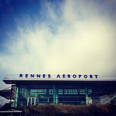 Aéroport Rennes Saint-Jacques (RNS) in Saint-Jacques-de-la-Lande, Bretagne