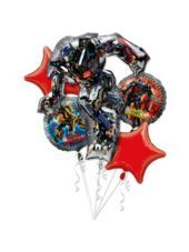 Transformers Birthday Balloon Bouquet - Party City