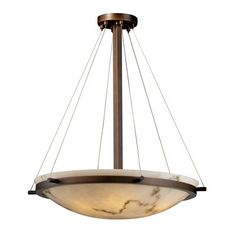 Justice Design Group FAL-969 LumenAria Classic Bowl Large Pendant - Lighting Universe