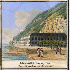 A Rudas gyógyfürdő a 19. század közepén / Rudas baths in the mid 19th century