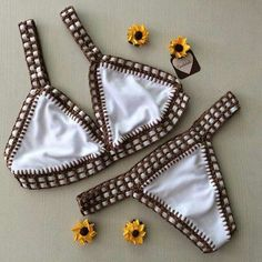 Luxury Swimwear, Bikini Swimwear, Swimsuits, Bikinis Crochet, Beach Girls, Bikini Bodies, Bathing Suits, Crochet Top, Knitting