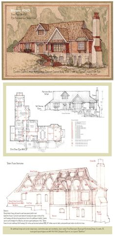 House 343 Portrait and Plan by Built4ever on DeviantArt