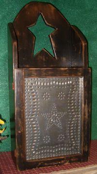 Medicine cabinet- different pattern & a frame. Could work!