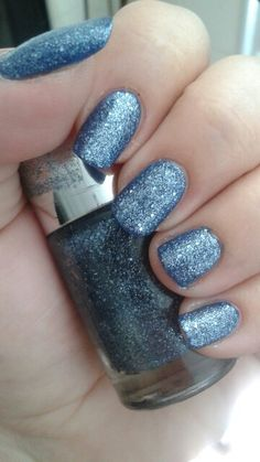 "Ulta ""Indigo-go Girl"" (topper)/China Glaze ""Man Hunt"""