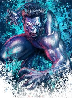 X-MEN: Beast by ArtofTu on DeviantArt