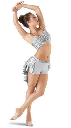 Ribbon Mesh Bustle Shorts (shown with matching Ribbon Mesh Bandeau Bra Top)