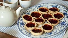 Paul's mum's jam tarts... This 'incredibly difficult' recipe was sent in by my mum. You can use any jam in the tarts, whichever suits your taste buds best. Top tip from my mum: it's a good way to use up leftover pastry. I hope I do you proud mum! ... Less than 30 mins preparation time... 10 to 30 mins cooking time... Makes 20...