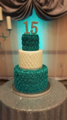 Charming conducted quinceanera party find out Sweet Birthday Cake, 15th Birthday Cakes, Creative Birthday Cakes, Birthday Cake Girls, Sweet 15 Cakes, Cute Cakes, 16 Cake, Cupcake Cakes, Beautiful Cakes