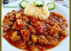 Krkovička s vůní i chutí léta Chili, Pork, Ethnic Recipes, Sweet, Cooking, Kale Stir Fry, Candy, Chile, Chilis
