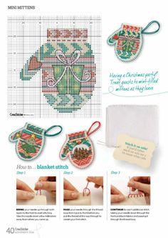 Cross Stitcher 285 - Mini Mittens