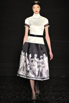 Pamella Roland Fall 2013 RTW collection