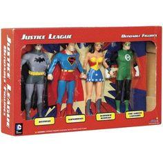 DC Comics Justice League Superheroes Bendable Boxed Set