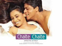 """Chalte Chalte"" by Shahrukh Khan & Rani Mukherjee Bollywood Wallpaper BOLLYWOOD WALLPAPER : PHOTO / CONTENTS  FROM  IN.PINTEREST.COM #WALLPAPER #EDUCRATSWEB"