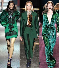 Vert émeraude http://www.vogue.fr/mode/en-vogue/diaporama/les-20-tendances-mode-de-l-automne-hiver-2012-2013/7452/image/510113#vert-emeraude