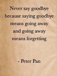 peter pans got it right