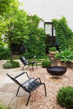 Incroyable Landscaping With Gravel, Small Backyard Landscaping, Modern Backyard,  Landscaping Design, Paved Backyard