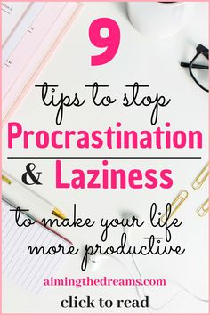 to beat and to make more to read. Taking action is the key to be successful at managing your procrastination habit. It is important to stop procrastination and laziness because it effects your life not only professionally but personally too. Time Management Strategies, Time Management Skills, Time Management Quotes, Planners, Productive Things To Do, Being Productive, Being Successful, Successful Women, Productivity Hacks