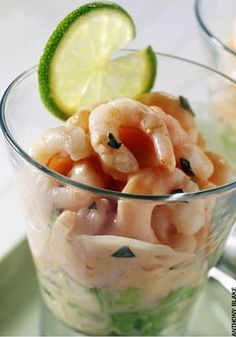 The ubiquitous Prawn Cocktail......a must-have at Christmas